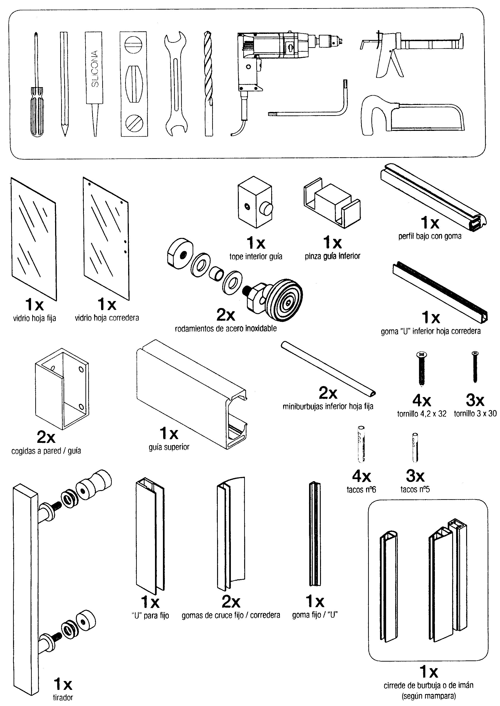 Como Instalar Una Mampara De Modelo Rtico ~ Como Instalar Una Mampara De Baño